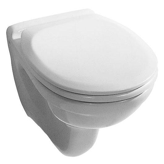 EUROLINE/IMOLA WC mísa závěsná, včetně WC sedátka LIVIA soft Close