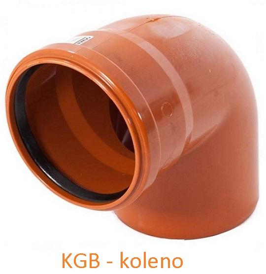 KGB koleno DN 110/87°