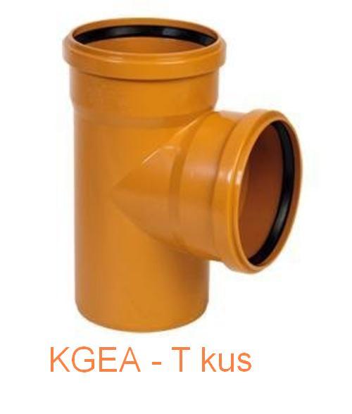 KGEA odbočka DN 200/ 200/87°