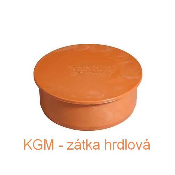 KGM hrdlová zátka DN 110