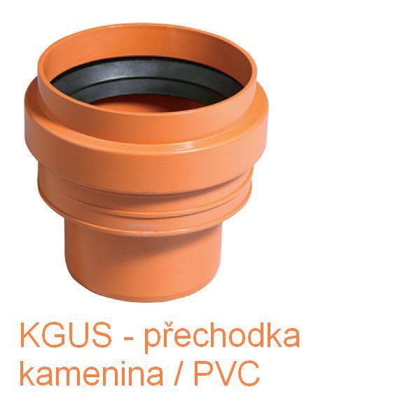 KGUS přechodka kamenina/PVC DN 110